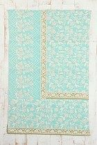 mint cloth with gold