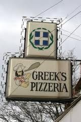 Favorite Pizza Place at Ball State University, Muncie, IN...love the greasy cheese pizza!  Many memories of going there in college.