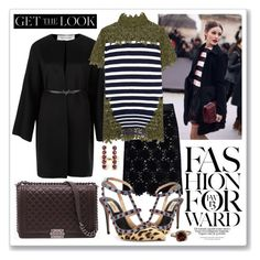 """Get the Look: Winter Edition"" by gogotasha ❤ liked on Polyvore featuring Dolce&Gabbana, Valentino, Sacai, Chanel, Ileana Makri, women's clothing, women's fashion, women, female and woman"