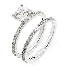 thin band diamond engagement ring