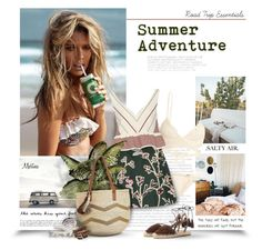"""""""Summer Adventure"""" by thewondersoffashion ❤ liked on Polyvore featuring SHE MADE ME, Marni, Elizabeth and James, Kayu, Aquazzura and TOKYObay"""