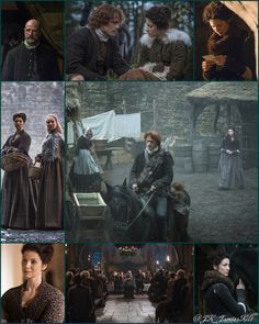 Montage of Outlander S1bE10 'By the Pricking of My Thumbs' scenes on Starz | Costume Designer TERRY DRESBACH www.terrydresbach.com
