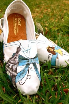 Toms shoes are designed in the latest style and the match of color will attract your eye sight wherever they are.$19.95