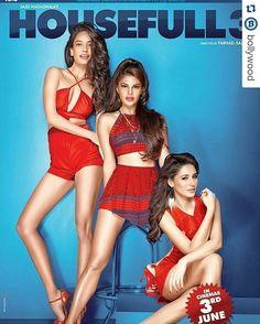 #Repost @Bollywood The three hotties of Housefull 3. Who's your favourite? Lisa, Jackie or Nargis? @Bollywood   . #instabollywood #instantbollywood #bollywood #india #indian #desi #bollywoodactress #mumbai #lisahaydon #sidharthmalhotra #tigershroff #jacquelinefernandez #nargisfakhri #housefull3 #delhi #noida #gurgaon #chandigarh #hyderabad #surat #pune #bangalore #kolkata #chennai #cochin #indiangirl #desigirl