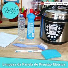 VÍDEO - Limpeza: Como Limpar a Panela de Pressão Elétrica | Receitas na Pressão