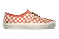 #Vans Authentic California « Checker » – Fall 2013