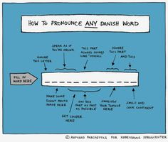 How To Pronounce Any Danish Word - SmelliFish - Daily Funny Pics, Funny Jokes, Viral Videos Funny Mouth, Danish Words, Gaelic Words, Funny Quotes, Funny Memes, Funny Gifs, How To Pronounce, Daily Funny, Best Funny Pictures
