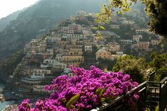 Positano, Italy  ...not only one of the most beautiful places I've been, one of my most favorite.