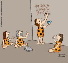 Cavemen and social media - Media Meerkat