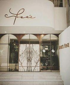 F l o r a h m i s t shop facade, retail facade, shop front design, coffee shop design, nail Retail Facade, Shop Facade, Facade Design, Door Design, Shop Interior Design, Retail Design, Tienda Fashion, Hotel Door, Luxury Store