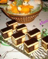 ruské rezy Fancy Desserts, Nutella, Waffles, Gluten, Cooking Recipes, Cookies, Baking, Breakfast, Cake