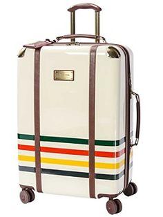 "27"" Glacier Stripe Spinner Luggage"