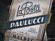 Paulucci Label by Jose Canales