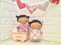 Small dolls.