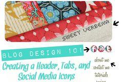 Sweet Verbena: FAQ Blog Design 101: a tutorial