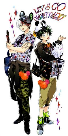 My Hero Academia - Todoroki & Midoriya
