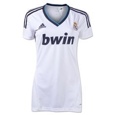 Real Madrid 12/13 Women's Home Soccer Jersey