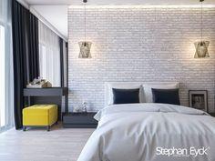 Bedroom interior design on Behance