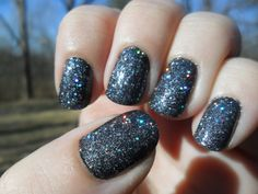 2013 New Year Nail #4- Sinful Colors Secret Admirer and China Glaze Some Like It Haute.