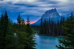 Photo Castle Mountain by Darby Sawchuk on 500px