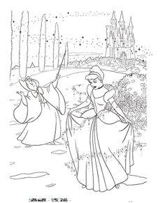 ディズニー 塗り絵 無料 シンデレラとディズニー映画「シンデレラ」動画|キャラクターぬりえ無料/妖怪ウォッチやディズニーキャラクターやHello Kittyほか大人の塗り絵オリジナル塗り絵ダウンロード