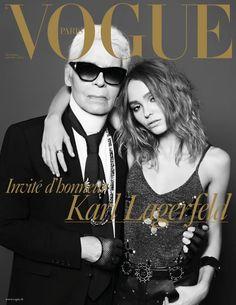 エディが表紙撮影 カールが仏「ヴォーグ」新年号を編集 | WWD JAPAN.com