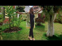 Como hacer un kimono en 20 minutos paso a paso talla única, para ti, para regalar o para vender! - YouTube Costura Diy, Ely, Kaftan, Sewing, Beach, Youtube, Kimono, Vestidos, Sewing Tutorials