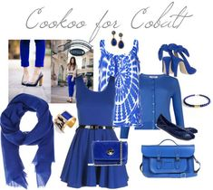 Cookoo for Cobalt: Cobalt Blue in Fashion and the Home | A Pop of Pretty: Canadian Decorating Blog | Finding the pretty in an every day home | Affordable home decor ideas tips tutorials inspiration |St Johns NL