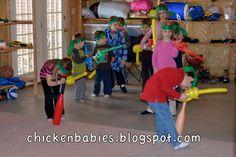 chicken babies: Ninjago Birthday Party