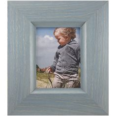 Fetco Home Decor Hyannis Classic Wood Photo Frame, 5 x 7', Blue ** Read more at the image link. (This is an affiliate link) #PictureFrames
