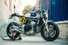 """Ottonero Cafe Racer: """"Sake Racer"""" Hornet 600 / Pepo XTR"""