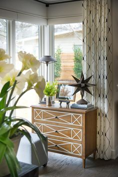 HGTV® Smart Home 2015 sponsored by Bassett Furniture featuring French Market Chest, inspired by the Parisian style.