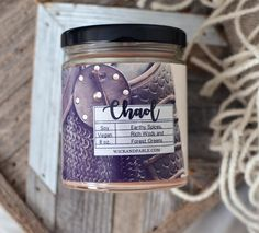 Chaol - Throne of Glass Inspired Scented Soy Candle by WickandFable on Etsy