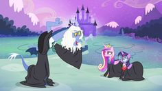 Equestria Daily: Top 20 Pop Culture and Movie References from Season 4. #6 Hogwarts - Discord's Song Again! - Wizard Edition