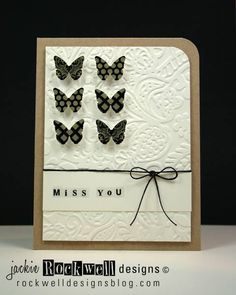 6 Butterflies by westie2 - Cards and Paper Crafts at Splitcoaststampers