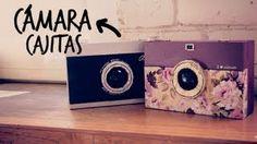 Haz cajitas en forma de cámara! (Anie) - YouTube