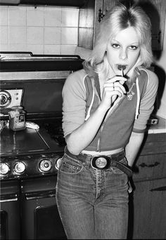Cherie Currie of The Runaways 1977