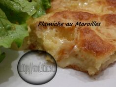 Flamiche au Maroilles Chorizo, Camembert Cheese, Gluten, Meat, Chicken, Recipes, Pizza, Salty Tart, Tarts