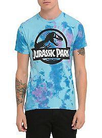 HOTTOPIC.COM - Jurassic Park Tie Dye Logo T-Shirt