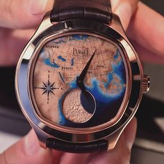 ➡️ Piaget Emperador Coussin XL Lune Astronomique is a limited edition of 38 pieces.  @swisswatches