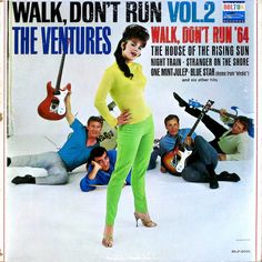 The Ventures, Walk Don't Run Vol. 2 LP cover.