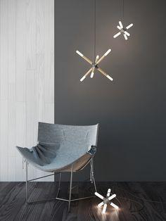 Cross Lamp by Sergey Buldygin