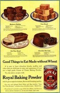 Vintage ad Royal Baking Powder