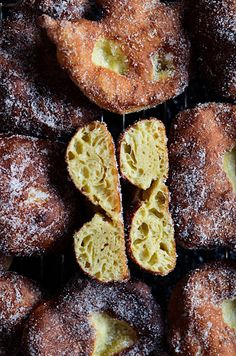 I adore cinnamon- subiektywny blog kulinarny o zapachu cynamonu: Portugalskie pączki malassadas z Azorów Dip, Fruit, Cooking, Blog, Recipes, Kitchen, Salsa, Recipies, Blogging