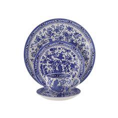 Regal Peacock Tableware