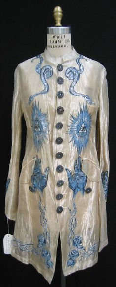Jacket Jean Paul Gaultier (French, born 1952) Date: 1994 Culture: French Medium: silk, metal, shell