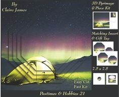 Past Times   Hobbies   Camping   Pyrimage Pyramid   Insert   Tag on Craftsuprint - View Now!