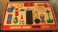 """My very first Magic Set… The """"My favorite Martian Magic Set"""". I cherished it and remember it like it was yesterday."""