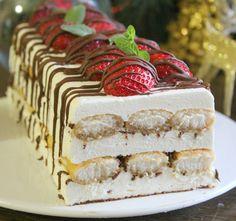 Десерт Рождественский, без выпечки