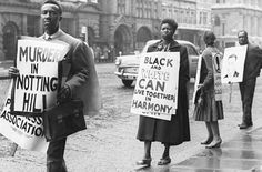 Notting Hill (London) 1958 Race Riot - my 2010 University Dissertation; I learnt more about the struggles my grandparents faced in the place I grew up and call home